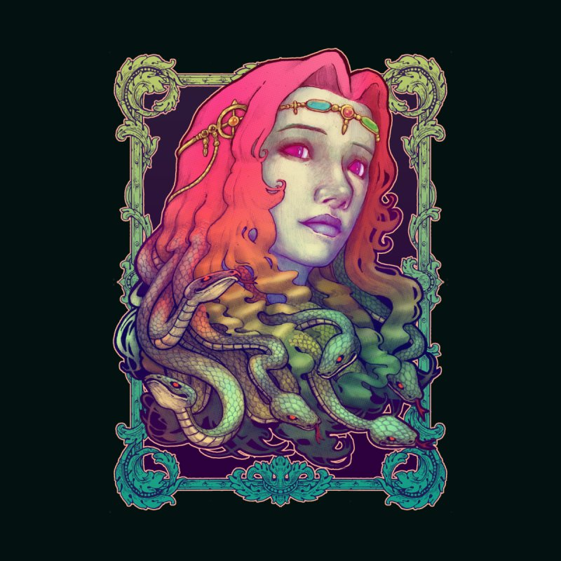 Medusa Devil by villainmazk's Artist Shop