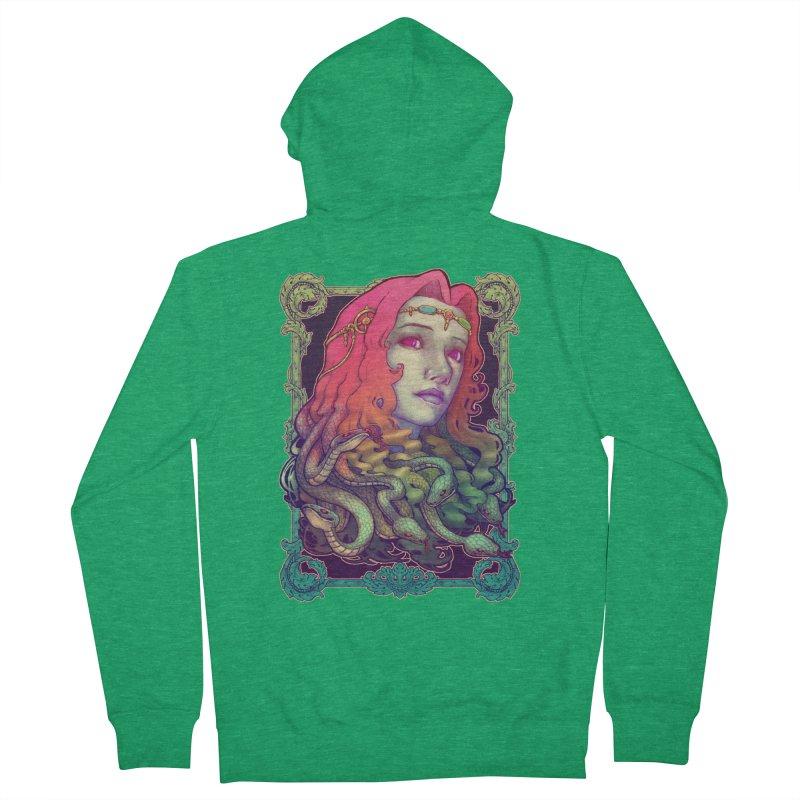 Medusa Devil Women's Zip-Up Hoody by villainmazk's Artist Shop
