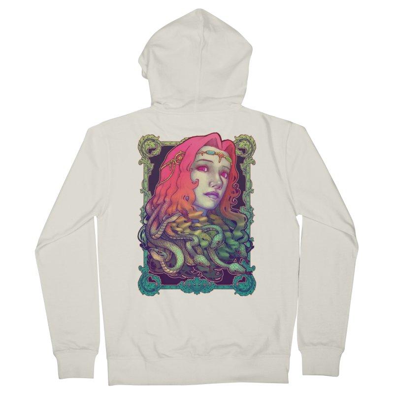 Medusa Devil Men's Zip-Up Hoody by villainmazk's Artist Shop