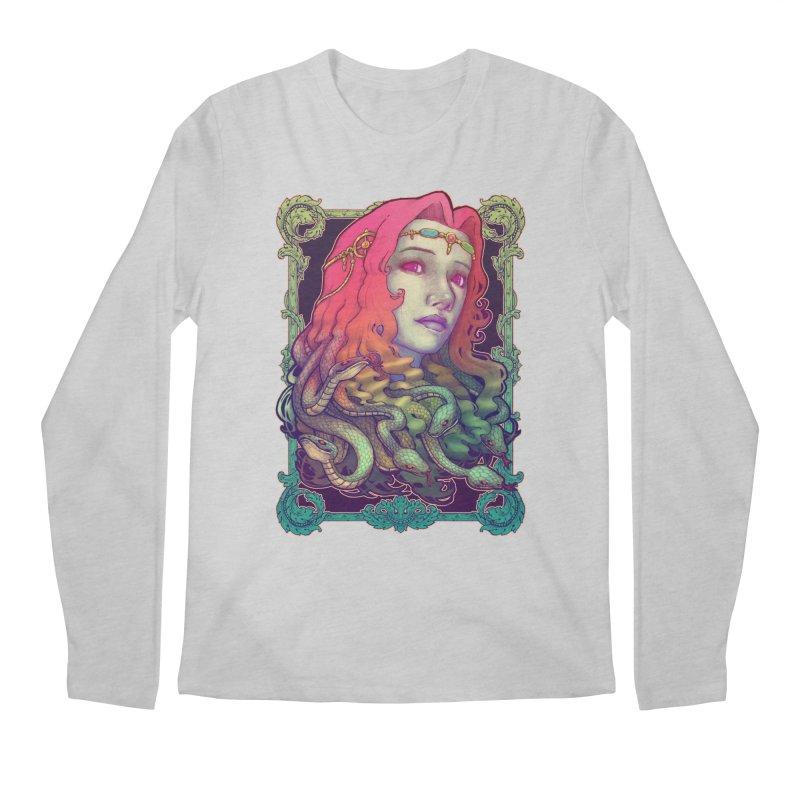 Medusa Devil Men's Longsleeve T-Shirt by villainmazk's Artist Shop