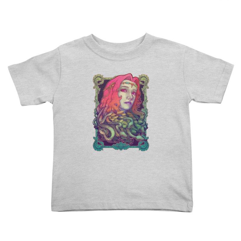 Medusa Devil Kids Toddler T-Shirt by villainmazk's Artist Shop