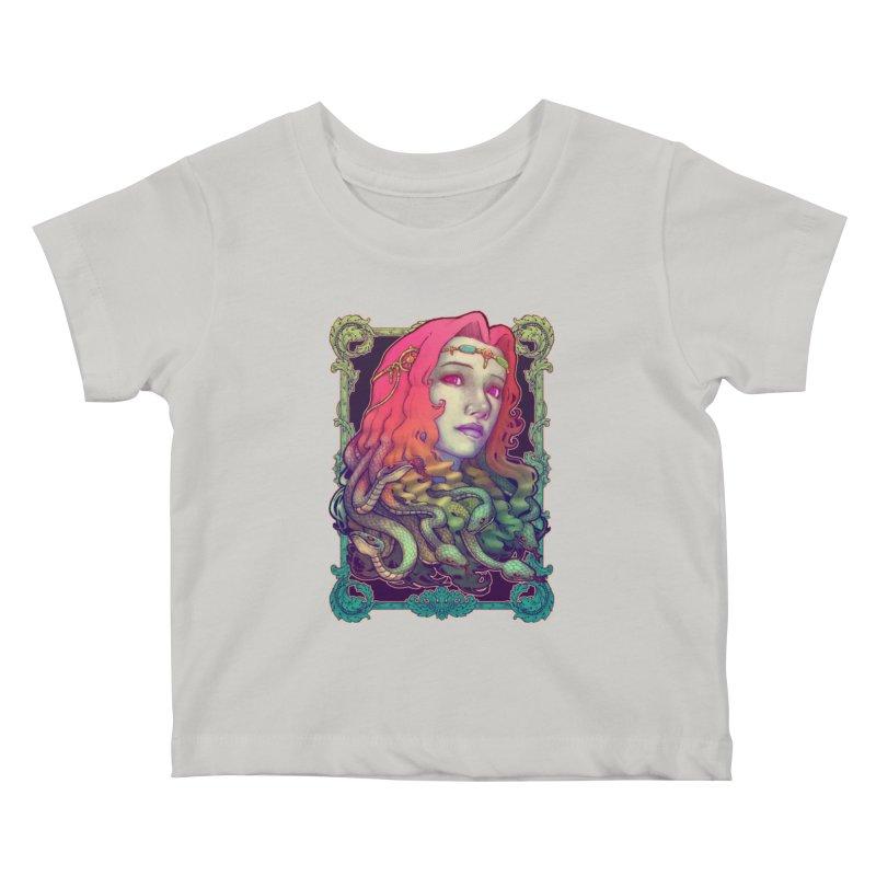 Medusa Devil Kids Baby T-Shirt by villainmazk's Artist Shop