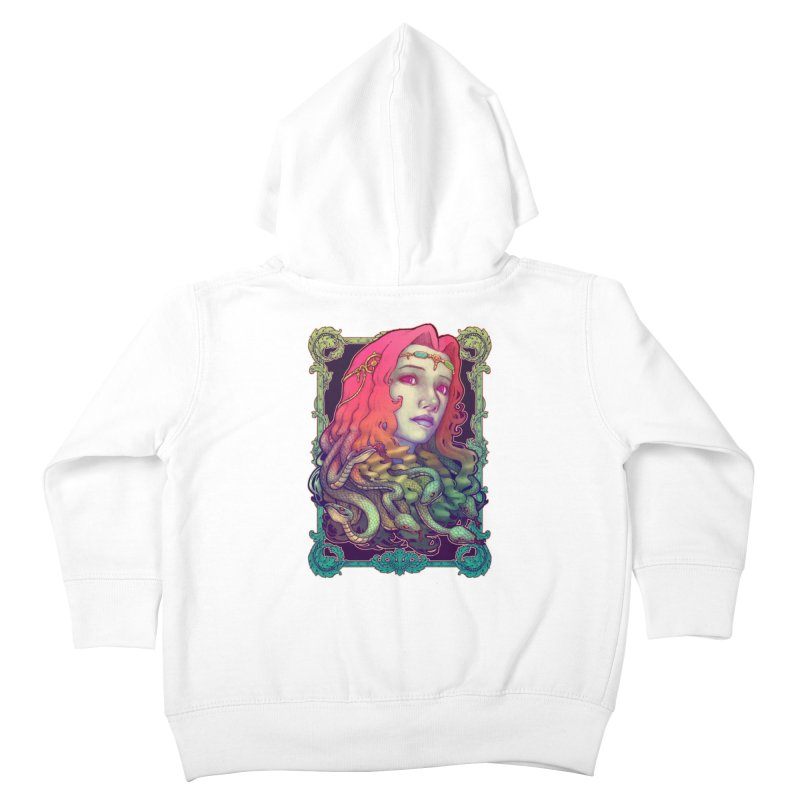 Medusa Devil Kids Toddler Zip-Up Hoody by villainmazk's Artist Shop