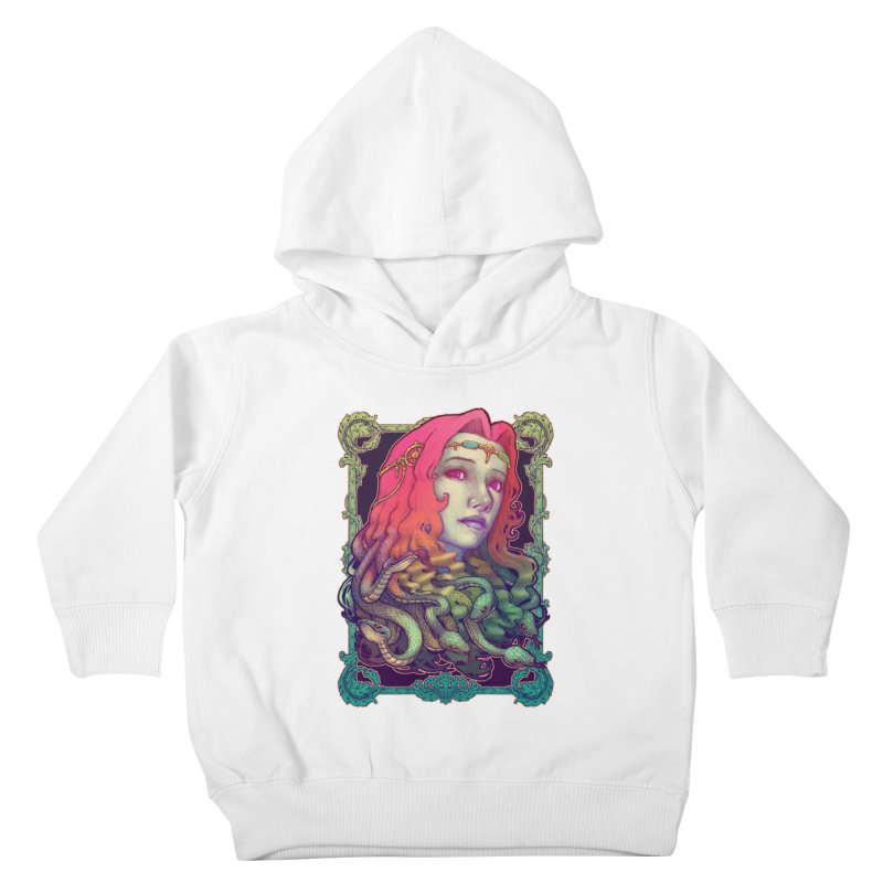 Medusa Devil Kids Toddler Pullover Hoody by villainmazk's Artist Shop