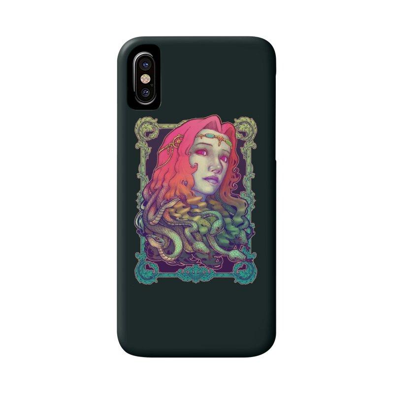 Medusa Devil Accessories Phone Case by villainmazk's Artist Shop