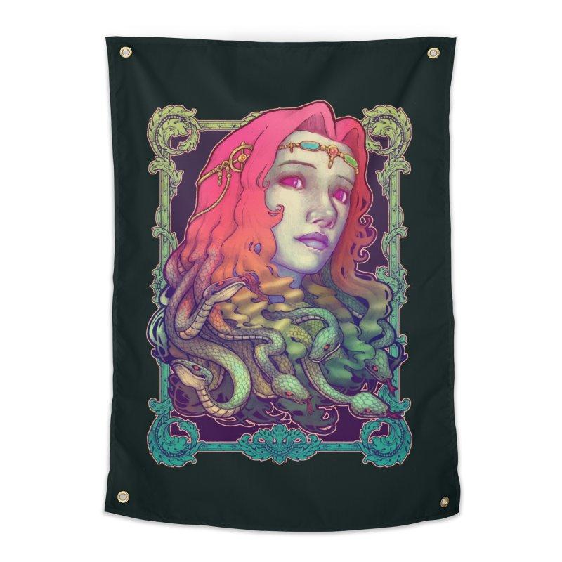 Medusa Devil Home Tapestry by villainmazk's Artist Shop