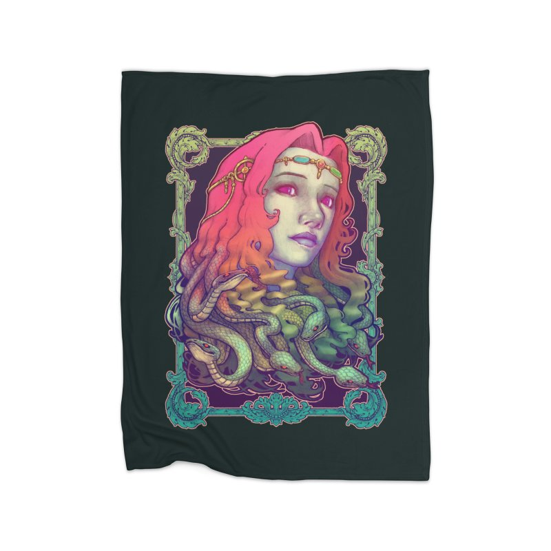 Medusa Devil Home Blanket by villainmazk's Artist Shop