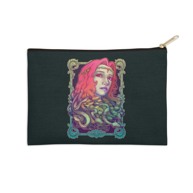 Medusa Devil Accessories Zip Pouch by villainmazk's Artist Shop