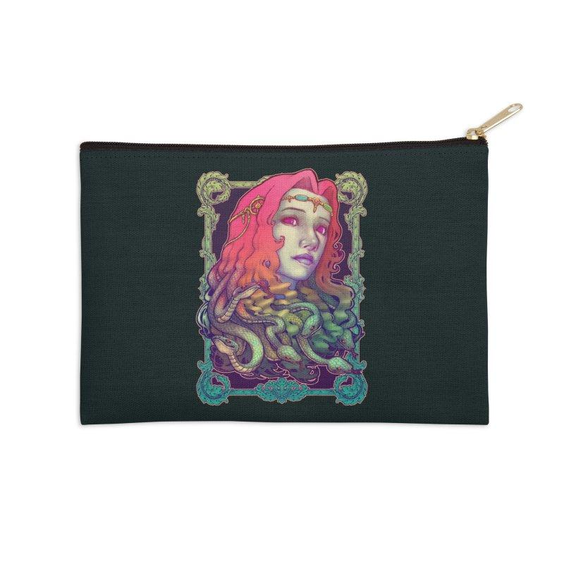 Medusa Devil Accessories Zip Pouch by villainmazk's Artist Shop