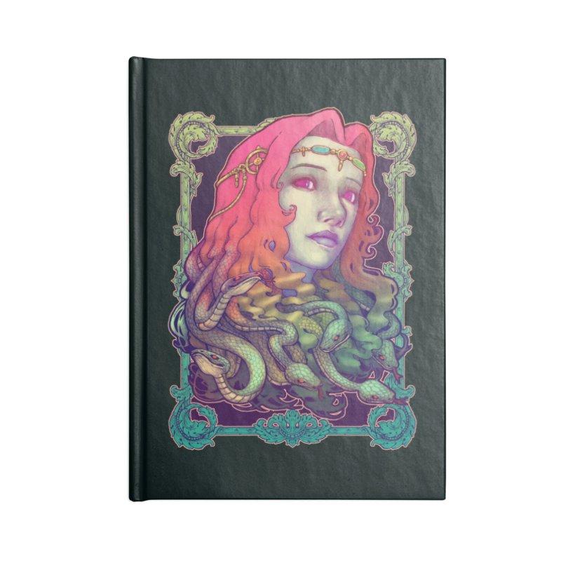 Medusa Devil in Blank Journal Notebook by villainmazk's Artist Shop