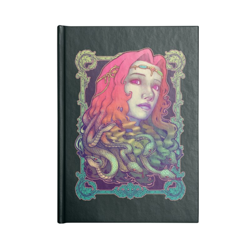 Medusa Devil Accessories Notebook by villainmazk's Artist Shop