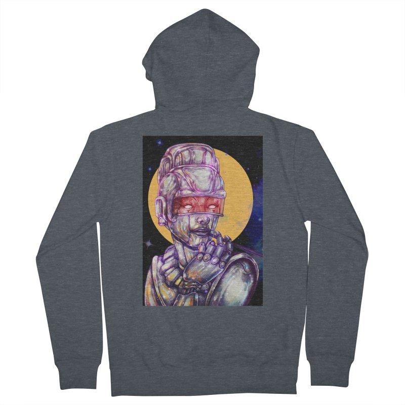 Iron Audrey Men's Zip-Up Hoody by villainmazk's Artist Shop