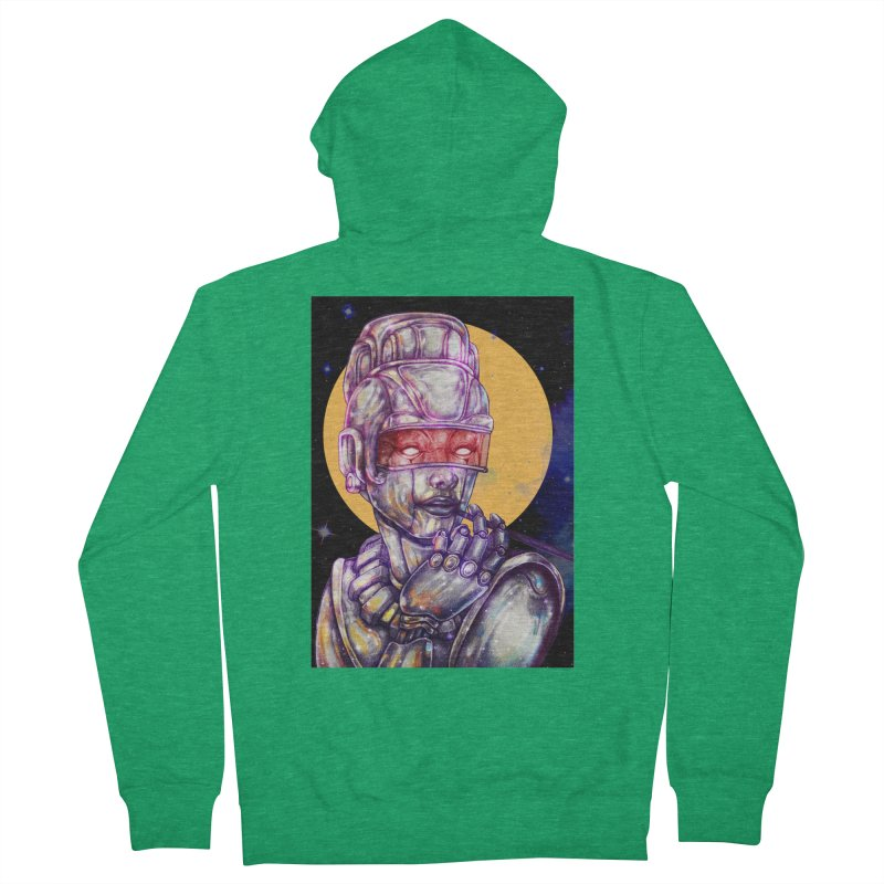 Iron Audrey Men's Zip-Up Hoody by villainmazk's Artist Shop