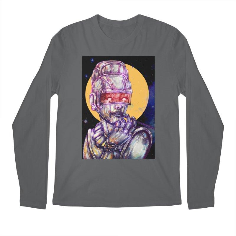 Iron Audrey Men's Longsleeve T-Shirt by villainmazk's Artist Shop