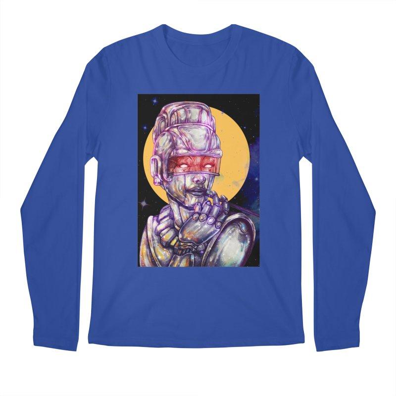 Iron Audrey Men's Regular Longsleeve T-Shirt by villainmazk's Artist Shop