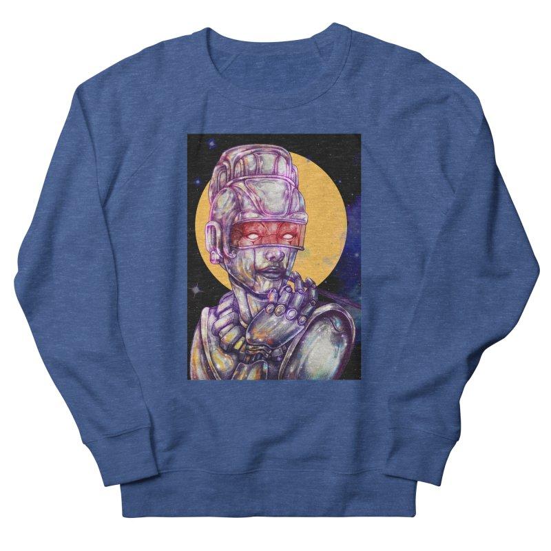 Iron Audrey Women's French Terry Sweatshirt by villainmazk's Artist Shop