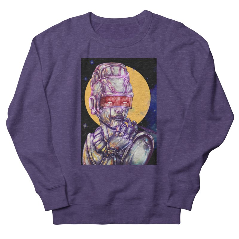 Iron Audrey Women's French Terry Sweatshirt by villainmazk's Artist Shop