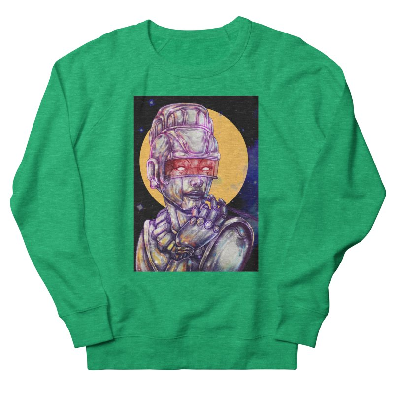 Iron Audrey Men's French Terry Sweatshirt by villainmazk's Artist Shop