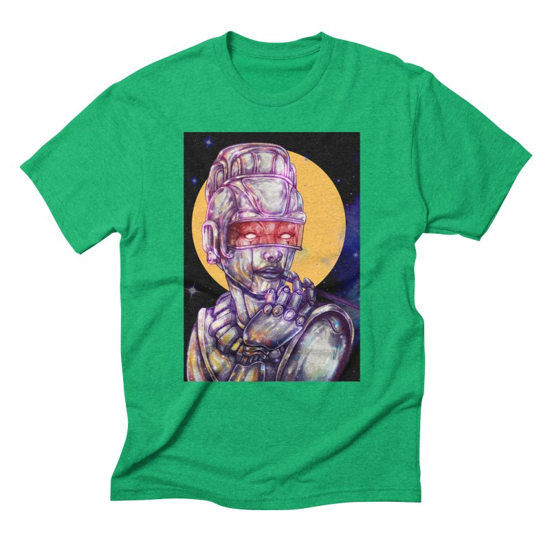 Iron Audrey Men's Triblend T-Shirt by villainmazk's Artist Shop