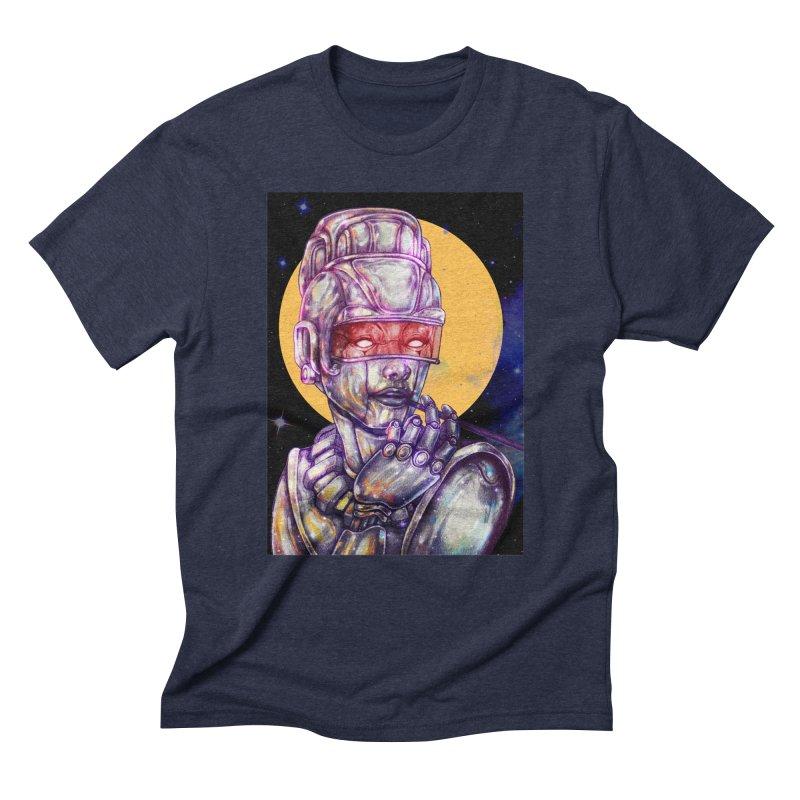 Iron Audrey Men's Triblend T-Shirt by villainmazk's Artist Shop