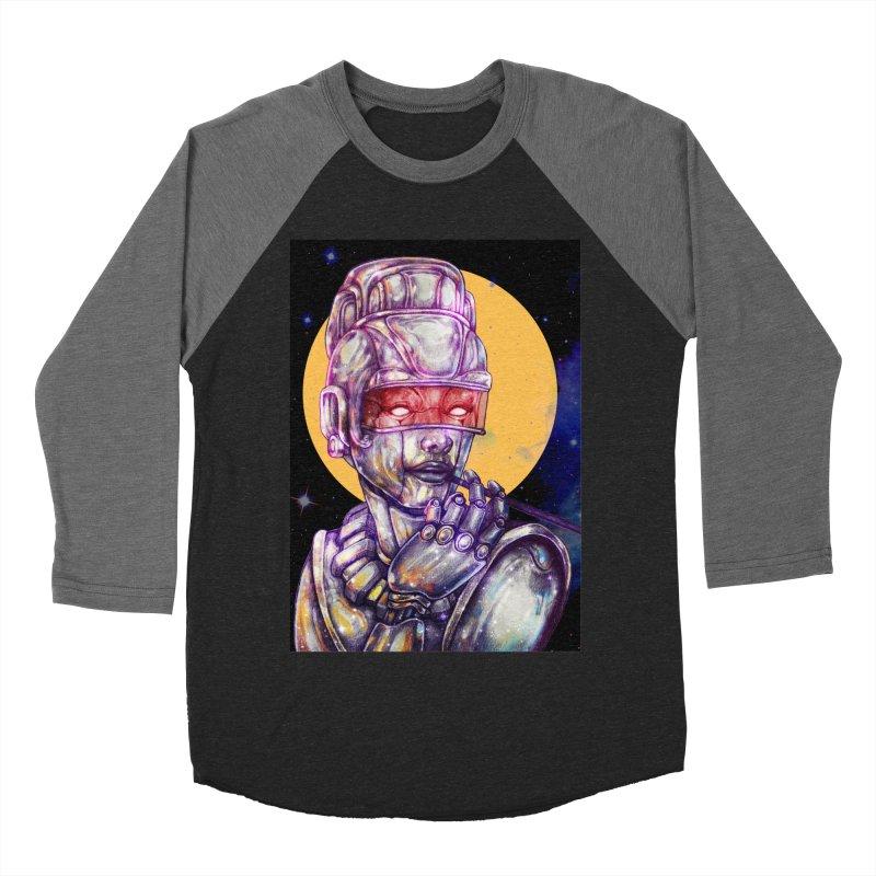 Iron Audrey Women's Baseball Triblend T-Shirt by villainmazk's Artist Shop