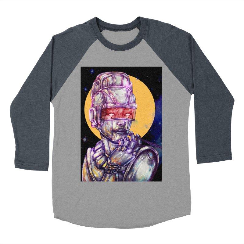 Iron Audrey Men's Baseball Triblend T-Shirt by villainmazk's Artist Shop