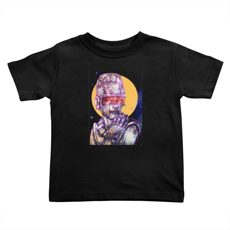 Iron Audrey Kids Toddler T-Shirt by villainmazk's Artist Shop