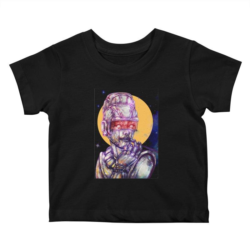 Iron Audrey Kids Baby T-Shirt by villainmazk's Artist Shop