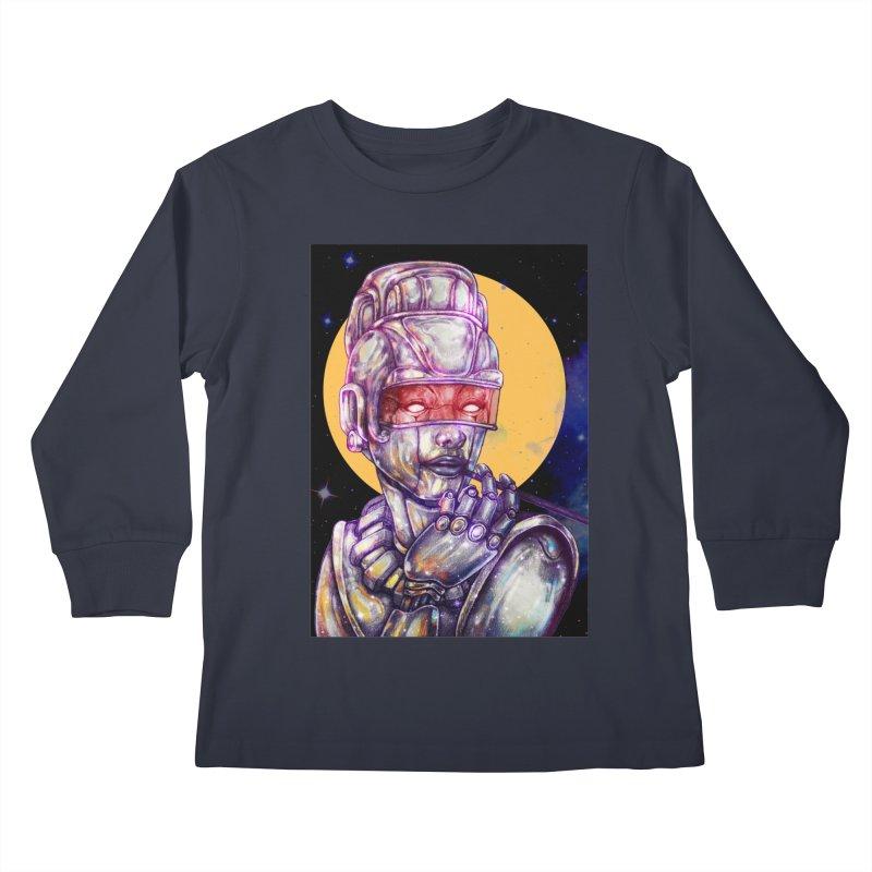 Iron Audrey Kids Longsleeve T-Shirt by villainmazk's Artist Shop