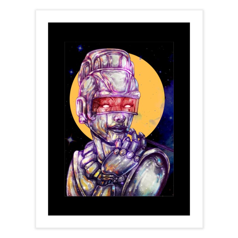 Iron Audrey Home Fine Art Print by villainmazk's Artist Shop
