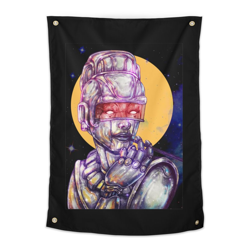 Iron Audrey Home Tapestry by villainmazk's Artist Shop