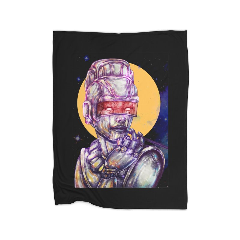 Iron Audrey Home Blanket by villainmazk's Artist Shop