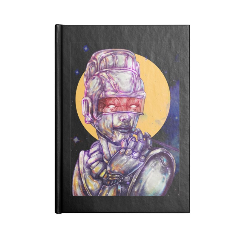 Iron Audrey Accessories Notebook by villainmazk's Artist Shop