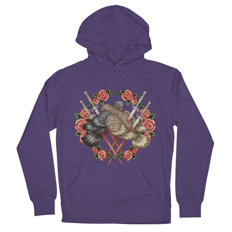 Forgive Me Men's French Terry Pullover Hoody by villainmazk's Artist Shop