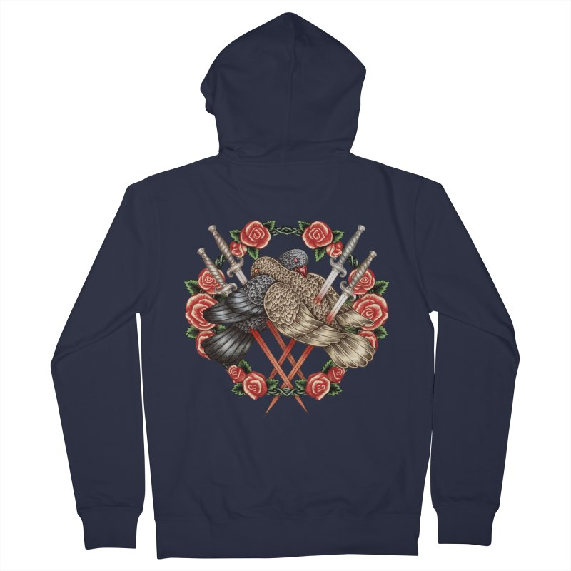 Forgive Me Women's French Terry Zip-Up Hoody by villainmazk's Artist Shop