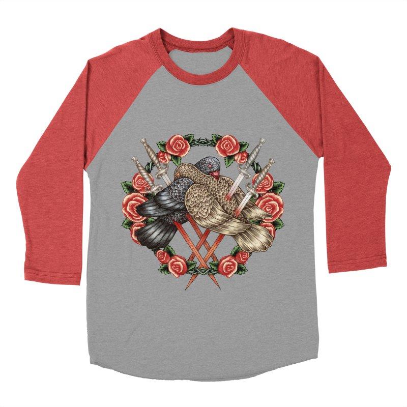 Forgive Me Women's Baseball Triblend T-Shirt by villainmazk's Artist Shop