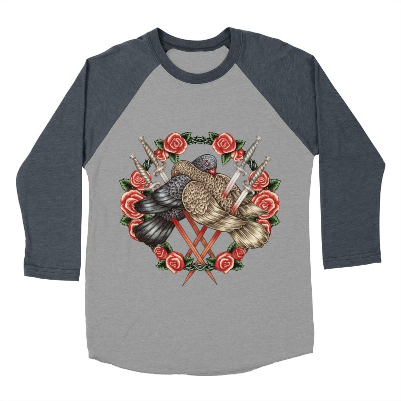 Forgive Me Men's Baseball Triblend Longsleeve T-Shirt by villainmazk's Artist Shop