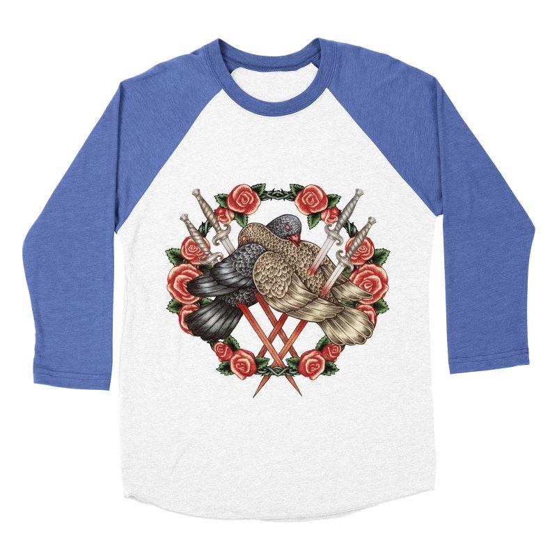 Forgive Me Men's Baseball Triblend T-Shirt by villainmazk's Artist Shop