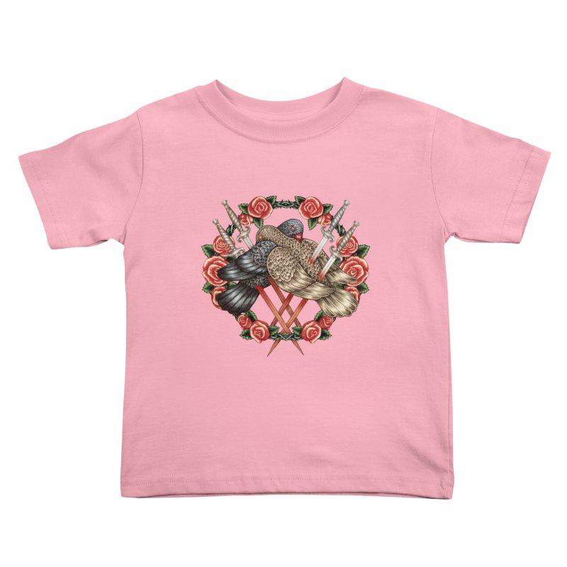 Forgive Me Kids Toddler T-Shirt by villainmazk's Artist Shop