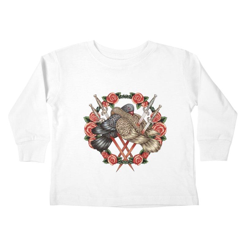 Forgive Me Kids Toddler Longsleeve T-Shirt by villainmazk's Artist Shop