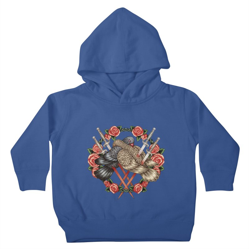 Forgive Me Kids Toddler Pullover Hoody by villainmazk's Artist Shop