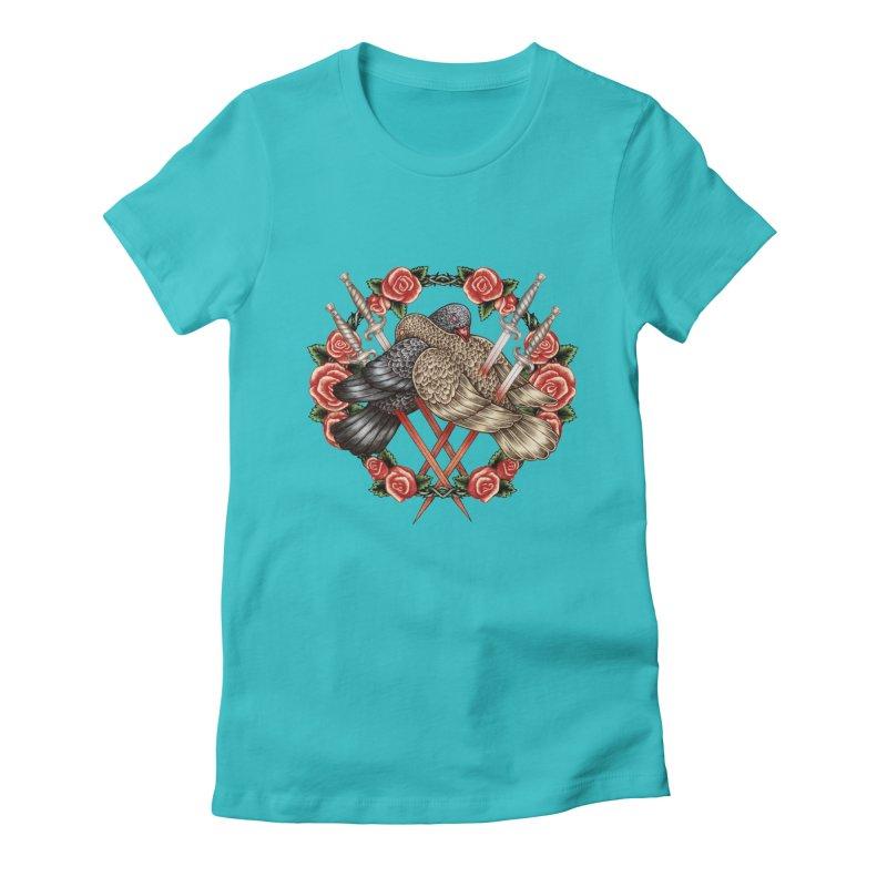 Forgive Me Women's Fitted T-Shirt by villainmazk's Artist Shop