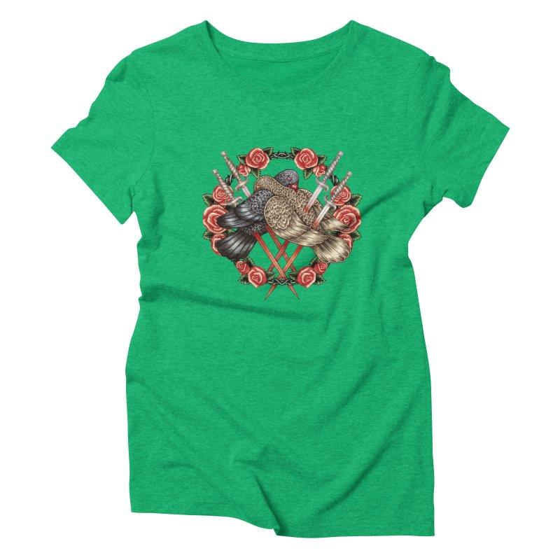 Forgive Me Women's Triblend T-Shirt by villainmazk's Artist Shop
