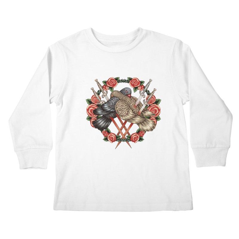 Forgive Me Kids Longsleeve T-Shirt by villainmazk's Artist Shop