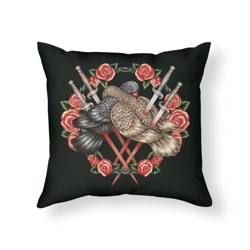 Forgive Me Home Throw Pillow by villainmazk's Artist Shop