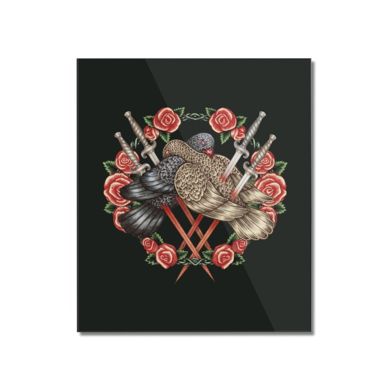 Forgive Me Home Mounted Acrylic Print by villainmazk's Artist Shop
