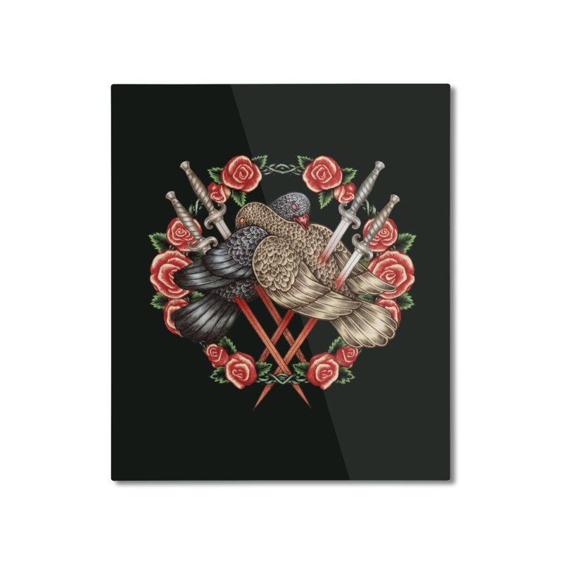 Forgive Me Home Mounted Aluminum Print by villainmazk's Artist Shop