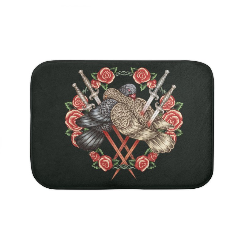 Forgive Me Home Bath Mat by villainmazk's Artist Shop
