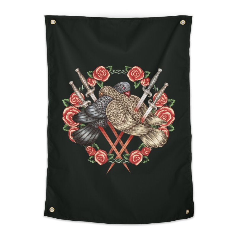Forgive Me Home Tapestry by villainmazk's Artist Shop