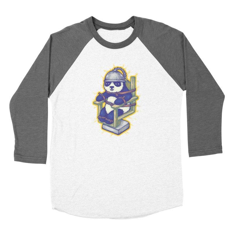 Electric Panda Women's Longsleeve T-Shirt by villainmazk's Artist Shop